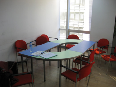 A typical classroom at New Oriental Elite.